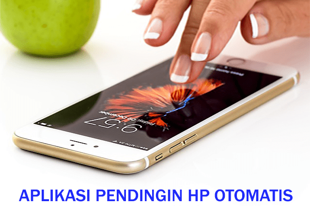 pendingin hp android otomatis