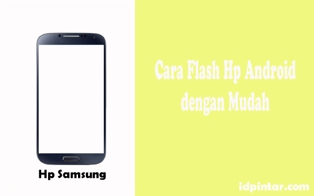 cara flash hp samsung
