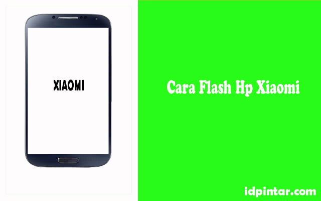 cara flash hp xiaomi