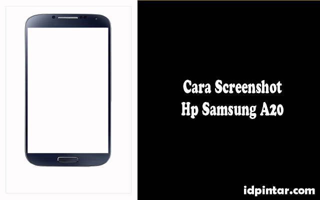 cara screenshot samsung a20