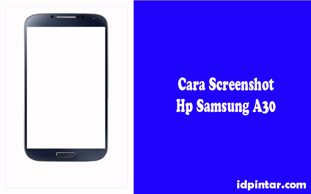 cara screenshot samsung a30