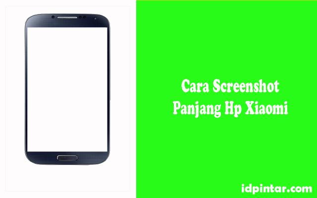 Cara Screenshot Panjang Xiaomi